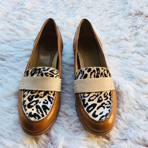 Naturalizer Veronica cheetah leather loafer 10